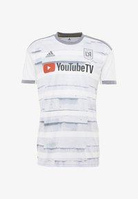 adidas Performance - T-shirt con stampa - white - 4
