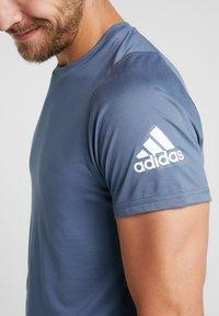 adidas Performance - FREELIFT SPORT ULTIMATE SPORT T-SHIRT - Sports shirt - tech ink - 5