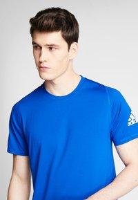 adidas Performance - FREELIFT SPORT ULTIMATE SPORT T-SHIRT - Sports shirt - cyan royal/white - 3