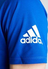 adidas Performance - FREELIFT SPORT ULTIMATE SPORT T-SHIRT - Sports shirt - cyan royal/white - 5