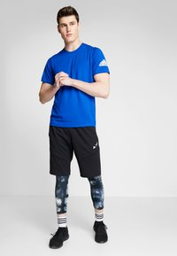 adidas Performance - FREELIFT SPORT ULTIMATE SPORT T-SHIRT - Sports shirt - cyan royal/white - 1