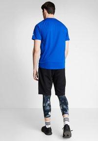 adidas Performance - FREELIFT SPORT ULTIMATE SPORT T-SHIRT - Sports shirt - cyan royal/white - 2