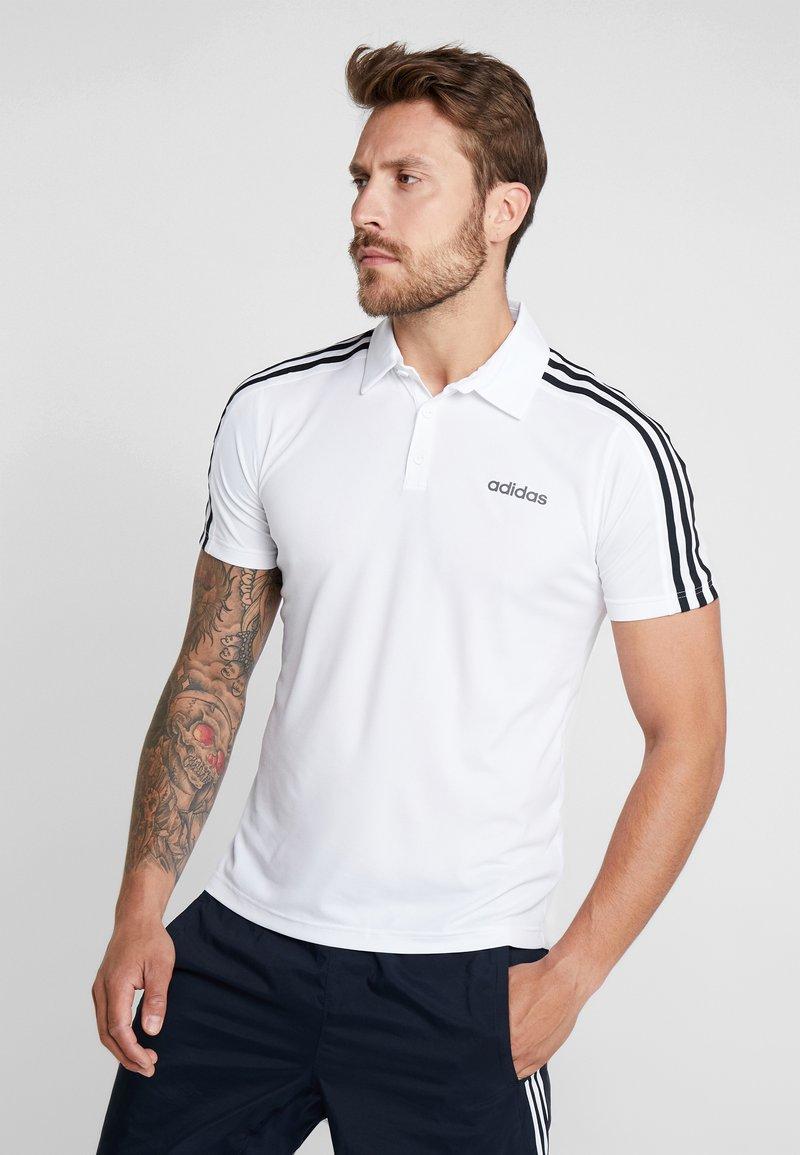 adidas Performance - T-shirt sportiva - white/black