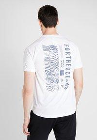 adidas Performance - PARLEY TEE REGULAR FIT T-SHIRT - Funktionsshirt - white - 2
