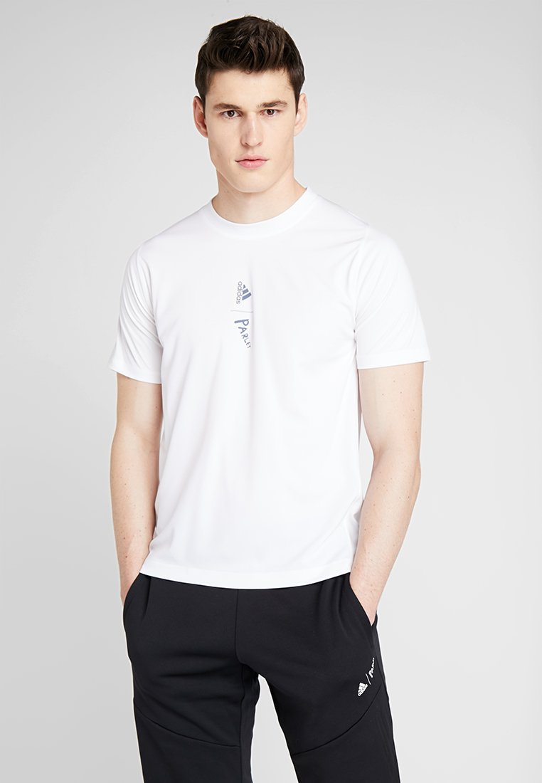 adidas Performance - PARLEY TEE REGULAR FIT T-SHIRT - Funktionsshirt - white