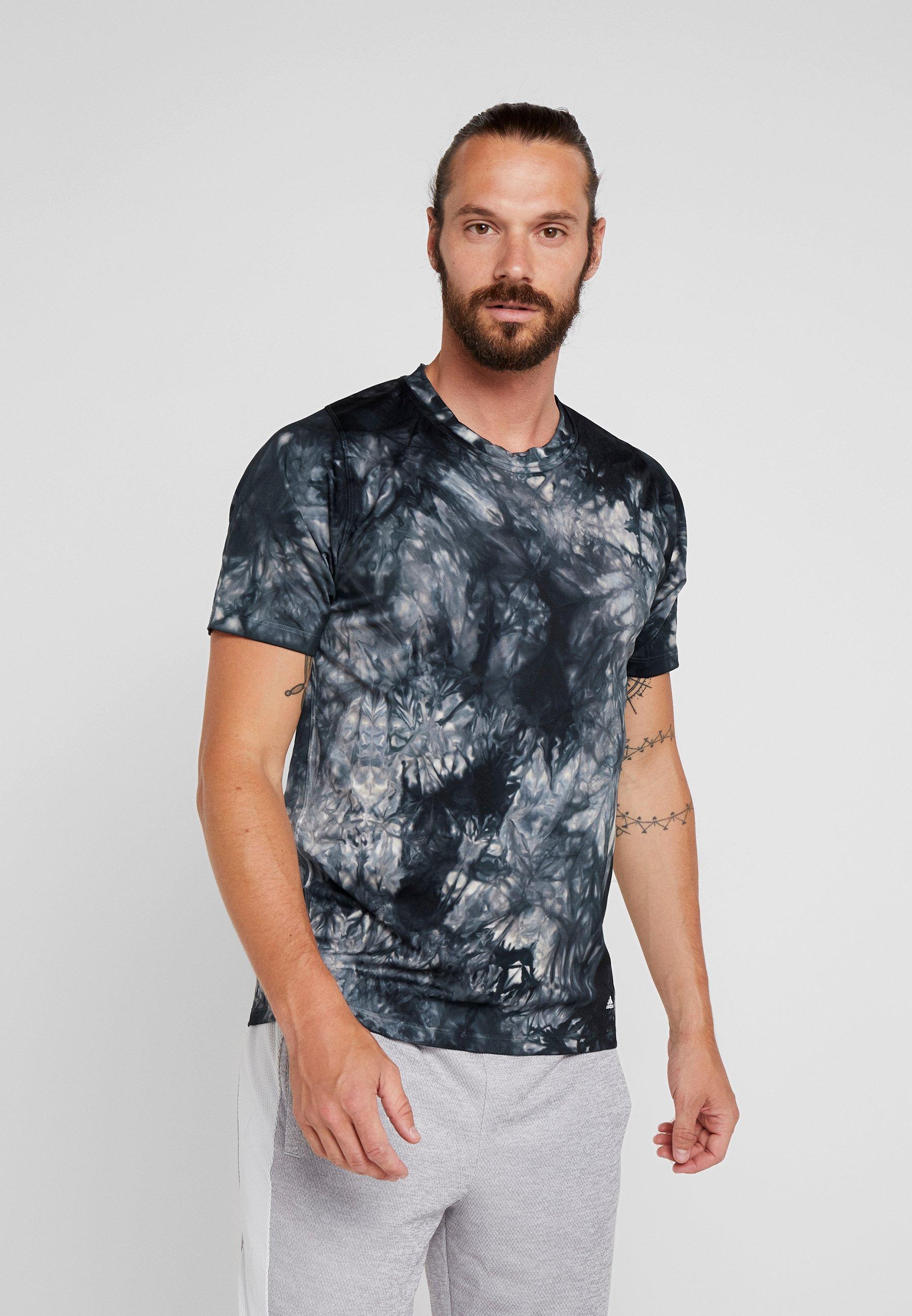 shirt TeeT Black Imprimé Performance Parley Adidas qzVSMLGUp