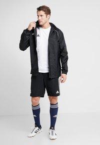 adidas Performance - TAN LOGO TEE - Camiseta estampada - white - 1
