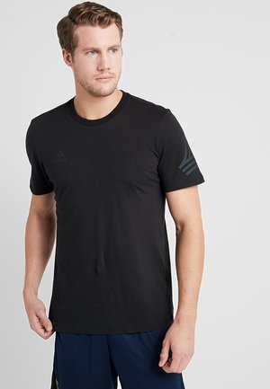 TAN LOGO TEE - T-shirt imprimé - black
