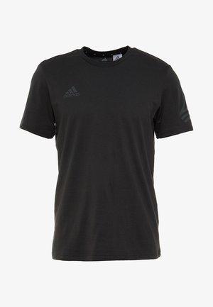 TAN LOGO TEE - T-shirt print - black