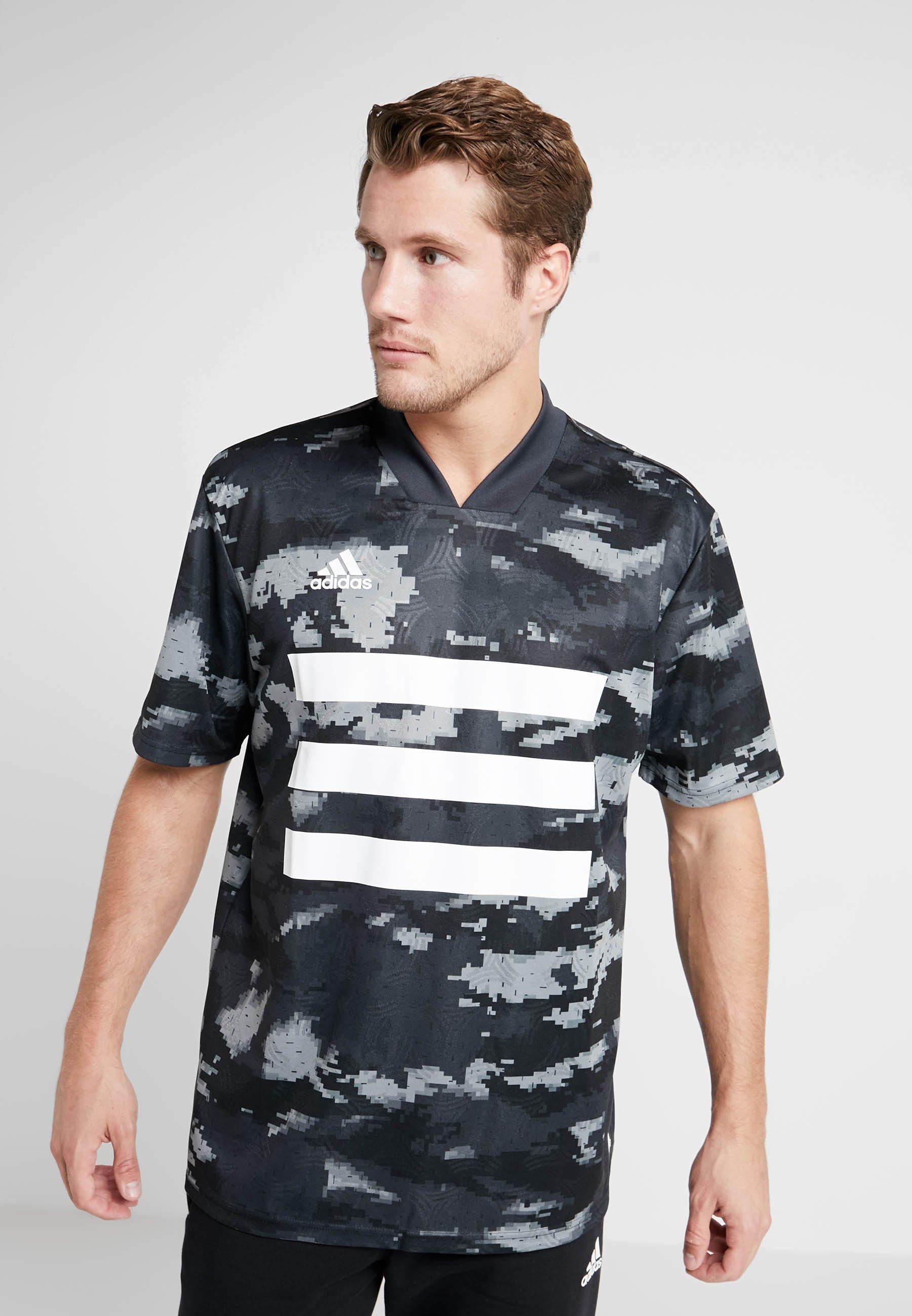 Imprimé Adidas Black shirt TanT Performance kZuPOXi