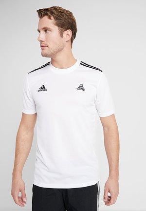 TAN  - Print T-shirt - white
