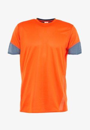 TEE  - T-shirt imprimé - orange
