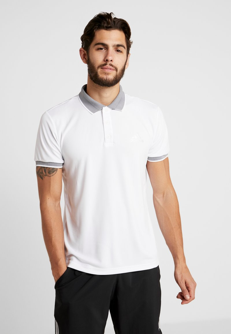 adidas Performance - CLUB SOLID - Funktionsshirt - white