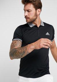 adidas Performance - CLUB SOLID - T-shirt sportiva - black - 4