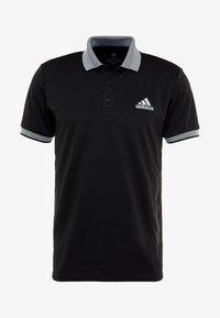 adidas Performance - CLUB SOLID - T-shirt sportiva - black - 5