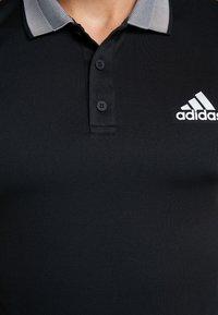 adidas Performance - CLUB SOLID - T-shirt sportiva - black - 6