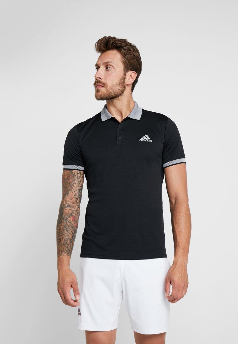 adidas Performance - CLUB SOLID - T-shirt sportiva - black
