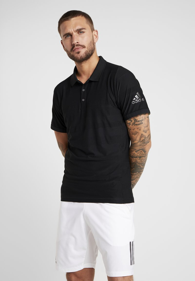 adidas Performance - CODE - Polo shirt - black