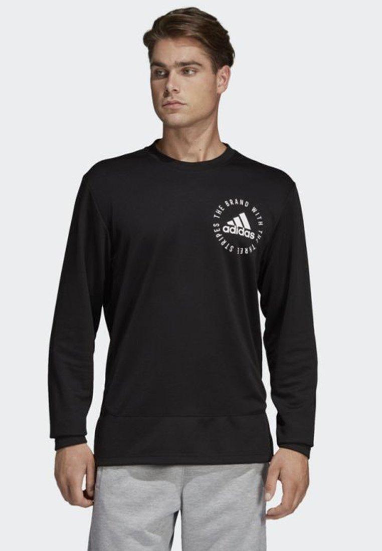 adidas Performance - SPORT ID SWEATER - Bluza - black
