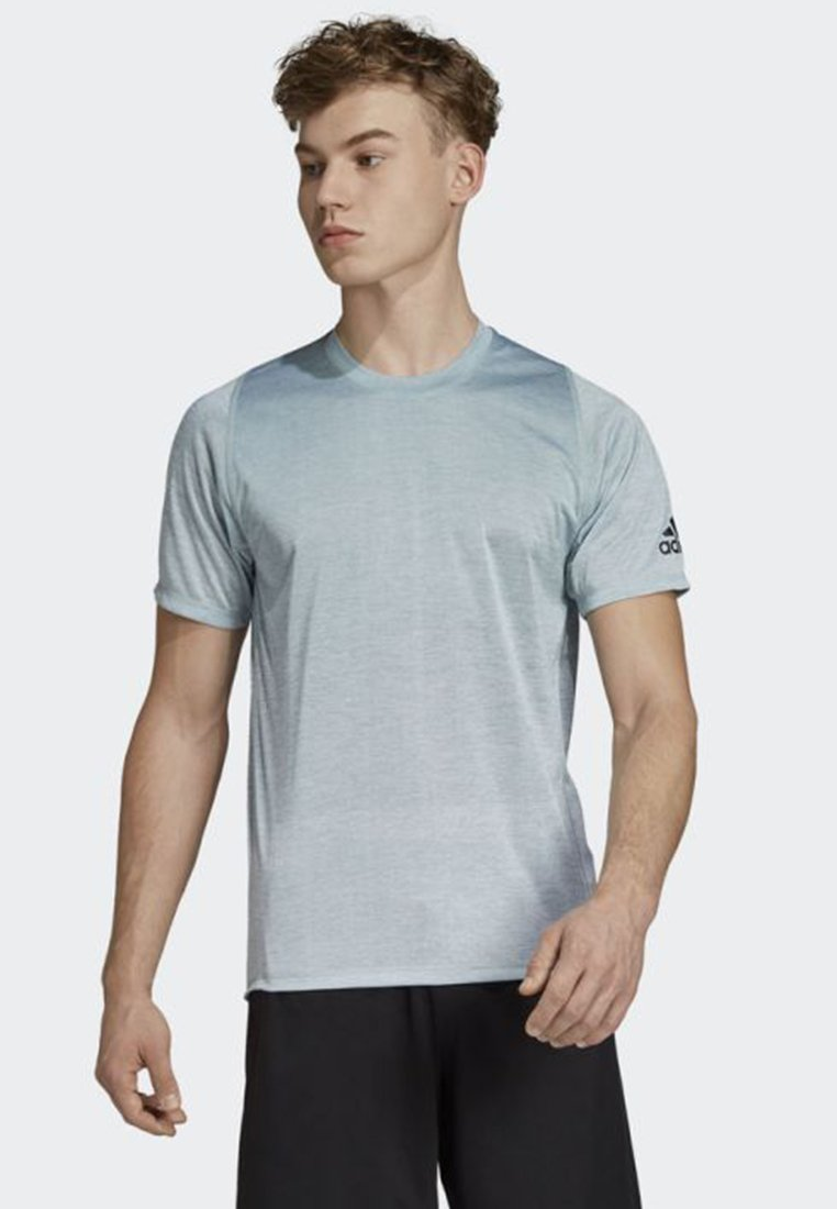 adidas Performance - FREELIFT 360 GRADIENT GRAPHIC TEE - Funktionsshirt - blue