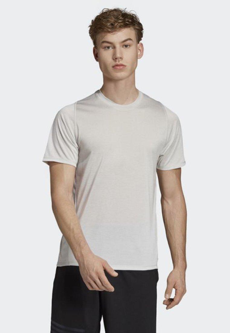 adidas Performance - FREELIFT 360 GRADIENT GRAPHIC T-SHIRT - T-Shirt print - grey