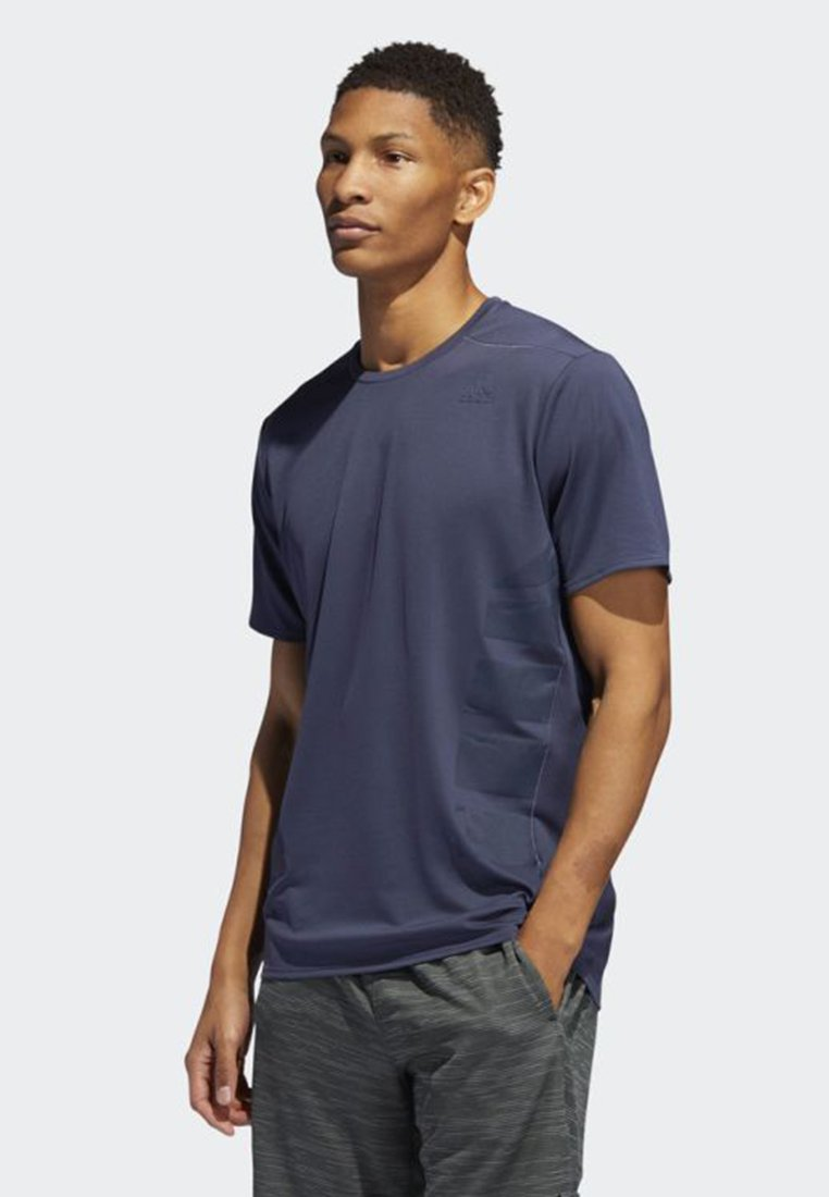 Blue Adidas shirtBasique T Performance Supernova OkuXZPi