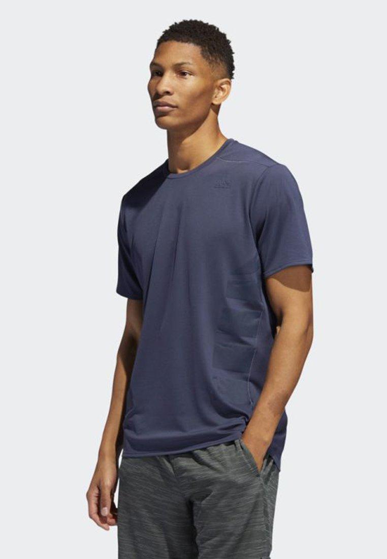 adidas Performance - SUPERNOVA T-SHIRT - T-Shirt basic - blue