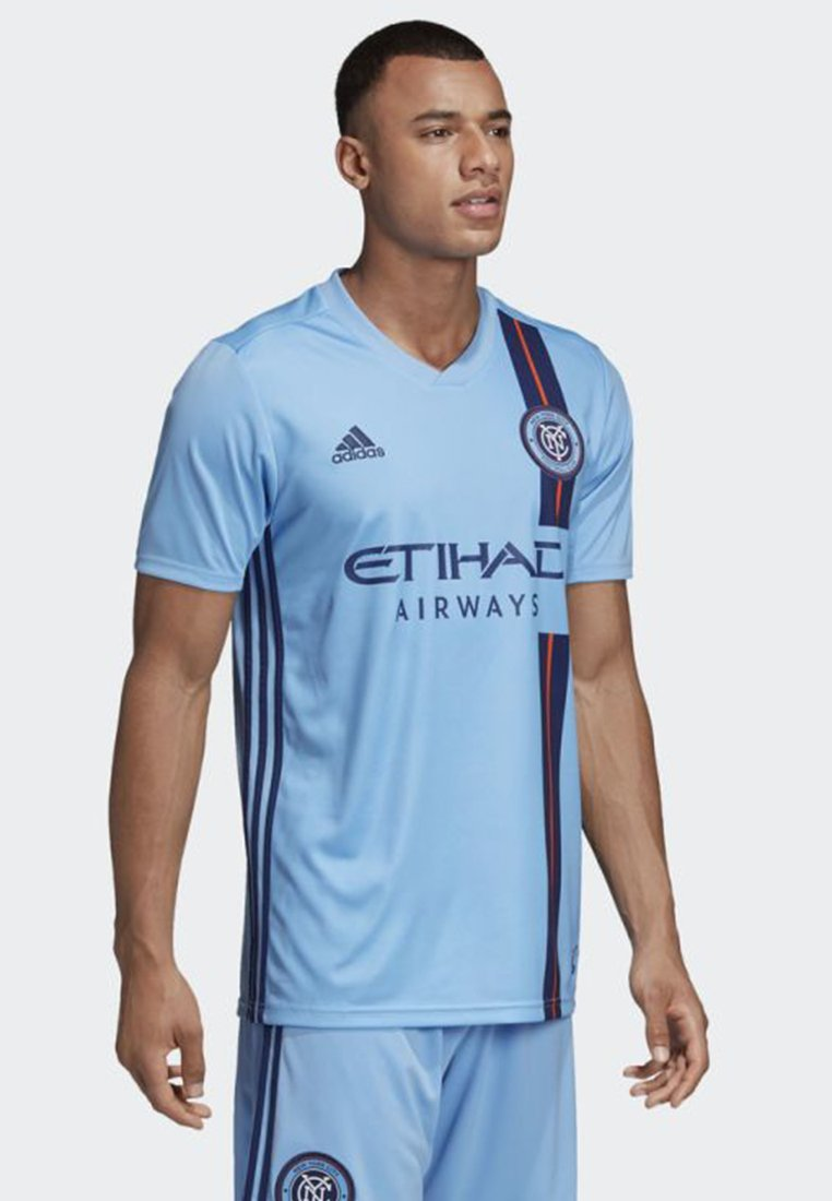 JerseyT Blue City Adidas Performance Imprimé Home New York shirt Fc ARjq354L