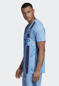 adidas Performance - NEW YORK CITY FC HOME JERSEY - Printtipaita - blue - 2