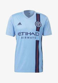 adidas Performance - NEW YORK CITY FC HOME JERSEY - Printtipaita - blue - 6
