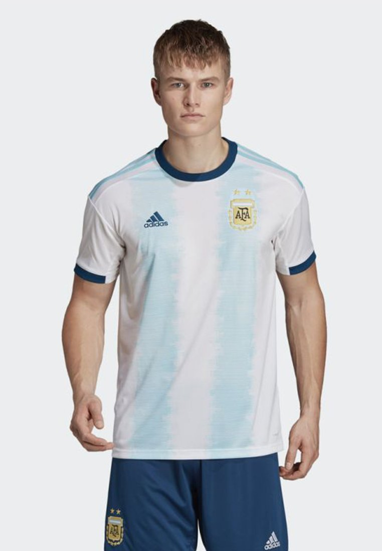 Imprimé Performance shirt Adidas White Home JerseyT Argentina OPTwkuXZi