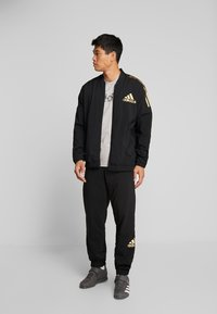 adidas Performance - CAMO LIN - T-shirt print - grey - 1