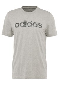 adidas Performance - CAMO LIN - Camiseta estampada - grey - 0