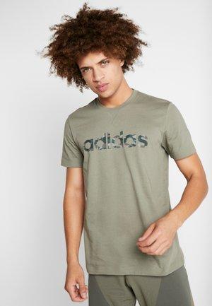 CAMO LIN - Camiseta estampada - khaki