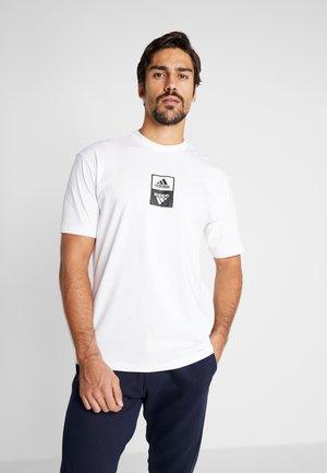 ONETEAM TEE - T-shirt print - white