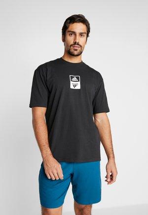 ONETEAM TEE - T-shirt imprimé - black
