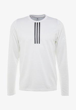 WARM CREW - Sports shirt - white