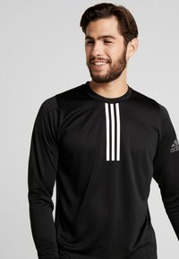 adidas Performance - WARM CREW - Sportshirt - black - 3