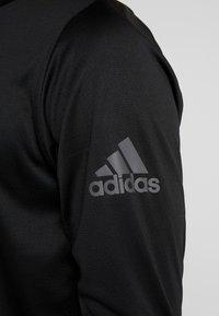adidas Performance - WARM CREW - Sportshirt - black - 4