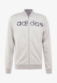 adidas Performance - CAMO LIN - Zip-up hoodie - grey/black - 4