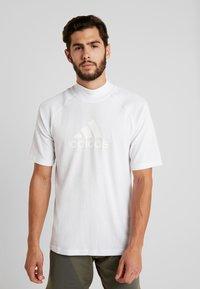 adidas Performance - ID WINTER TEE - Basic T-shirt - white - 0