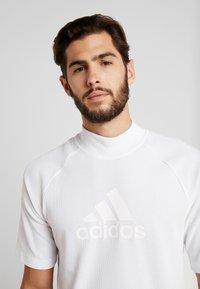 adidas Performance - ID WINTER TEE - Basic T-shirt - white - 3