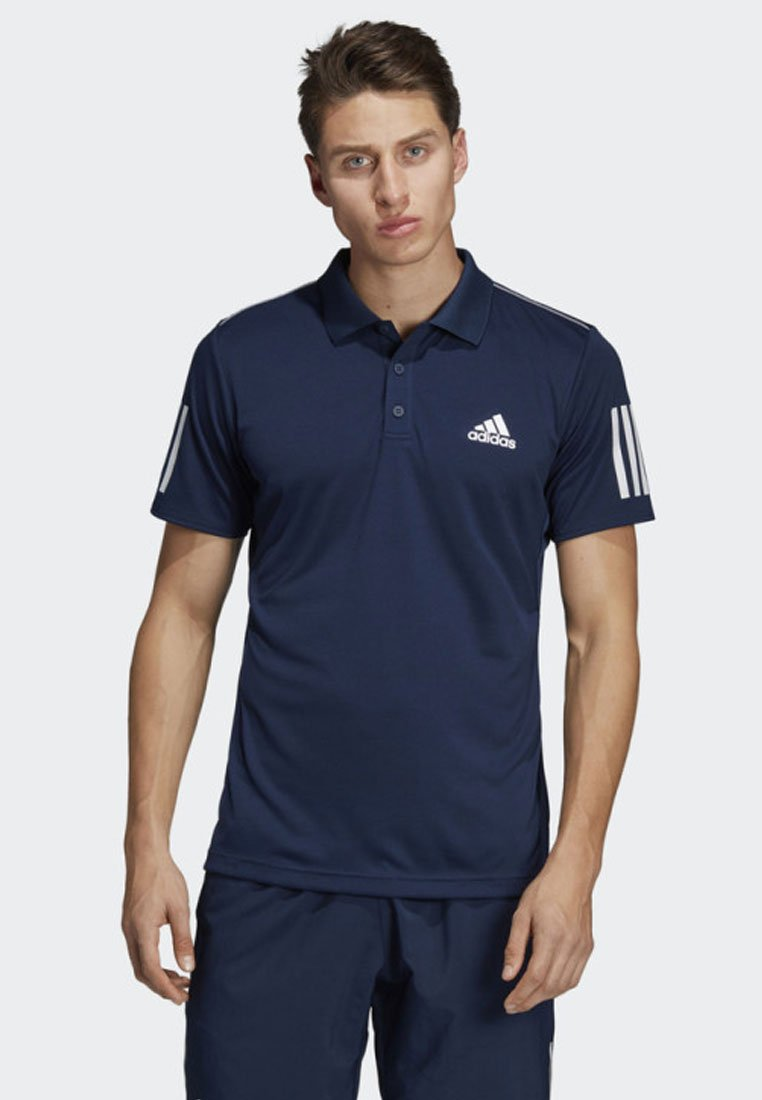 adidas Performance - 3-STRIPES CLUB POLO SHIRT - Sports shirt - blue