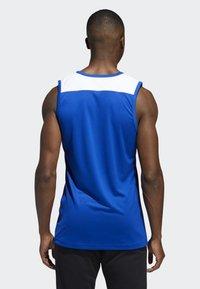 adidas Performance - CREATOR 365 JERSEY - Sports shirt - blue/white - 1