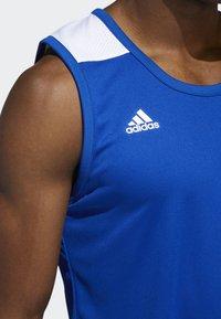 adidas Performance - CREATOR 365 JERSEY - Sports shirt - blue/white - 5