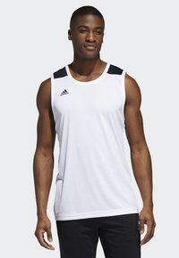 adidas Performance - CREATOR 365 JERSEY - Toppi - white - 0