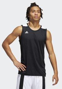 adidas Performance - CREATOR 365 JERSEY - Tekninen urheilupaita - black - 0