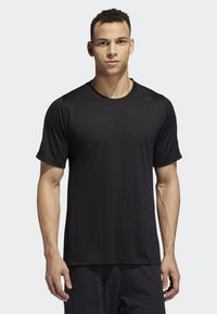 adidas Performance - FREELIFT TECH CLIMACOOL FITTED T-SHIRT - T-shirt imprimé - black - 0