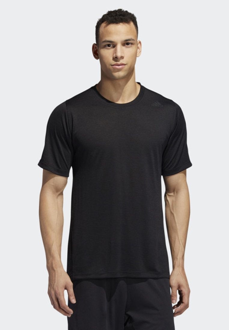 adidas Performance - FREELIFT TECH CLIMACOOL FITTED T-SHIRT - T-shirt imprimé - black