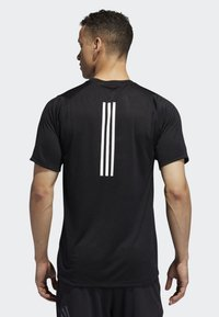 adidas Performance - FREELIFT TECH CLIMACOOL FITTED T-SHIRT - T-shirt imprimé - black - 1